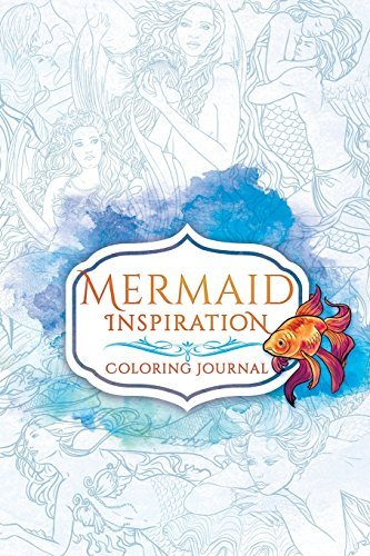 Mermaid Inspiration Coloring Journal