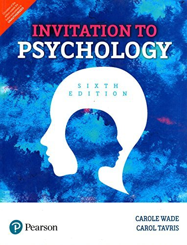 Invitation To Psychology 6Th Editon