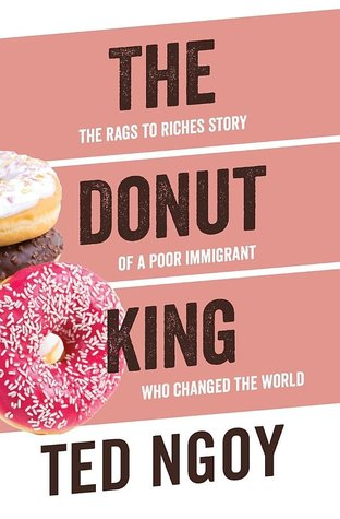 book cover of donut