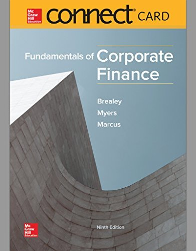 Fundamentals of Corporate Finance McGraw-Hill Connect Access Code
