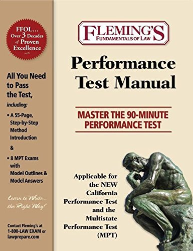 Performance Test Manual: Master the 90-Minute Performance Test