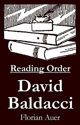 David Baldacci - Reading Order Book - Complete Series Companion Checklist