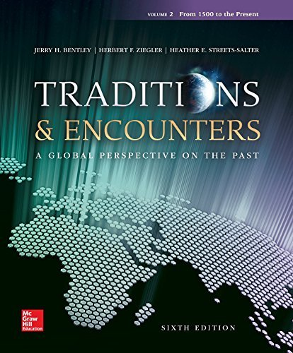Traditions & Encounters Volume 2 with Connect 1-Term Access Card