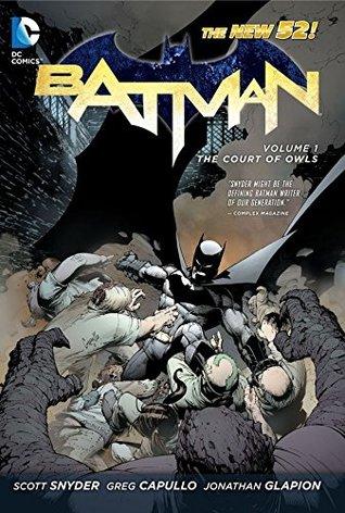 Batman (2011-2016) Vol. 1: The Court of Owls (Batman Graphic Novel)