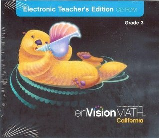 Envisionmath California, Electronic Teacher's Edition, Grade 3