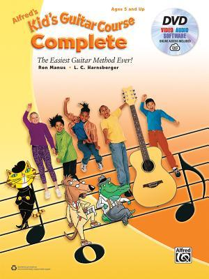 Alfred's Kid's Guitar Course Complete: The Easiest Guitar Method Ever!, Book, DVD & Online Audio, Video & Software
