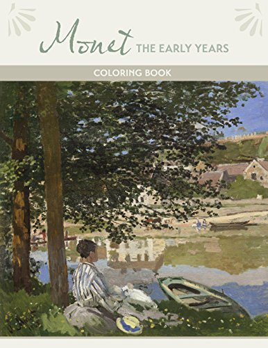 Monet the Early Years Coloring Book