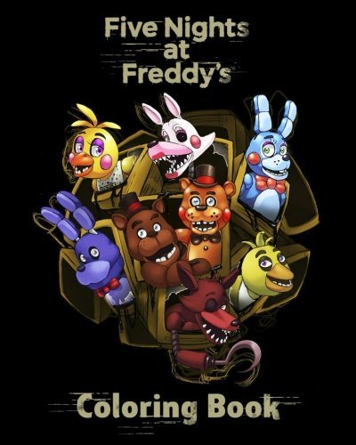 Five Nights at Freddy's: Coloring Book for Kids & Adults