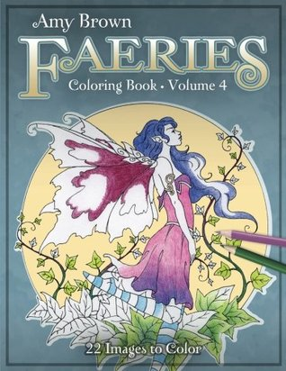 Amy Brown Faeries Coloring Book 4