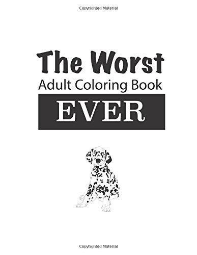 The Worst Adult Coloring Book Ever