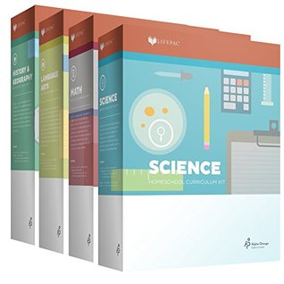 New Lifepac Grade 2 AOP 4-Subject Box Set (Math, Language, Science & History / Geography, Alpha Omega, 2nd GRADE, HomeSchooling CURRICULUM, New Life Pac [Paperback]