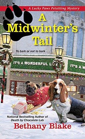 A Midwinter's Tail (Lucky Paws Petsitting Mystery Book 4)