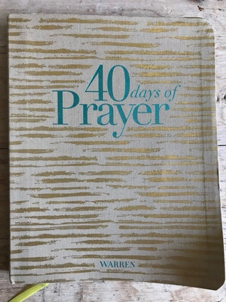 40 Days of Prayer Journal
