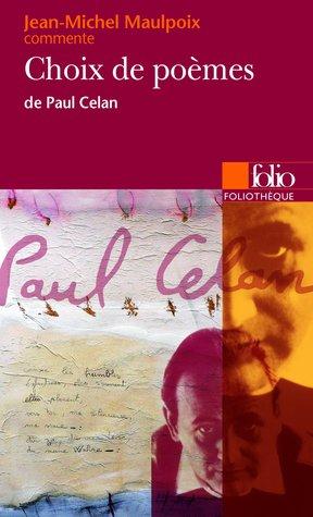 Choix de poèmes de Paul Celan
