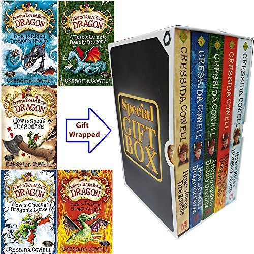 How To Train Your Dragon Series Special Gift Box Cressida Cowell Collection 5 Books Bundle