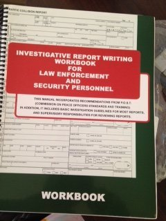Investigative Report Writing for Law Enforcement and Security Personnel: Manual + Workbook