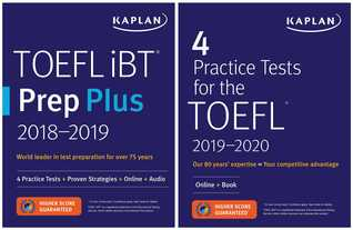 TOEFL Prep Set: 2 Books + Online