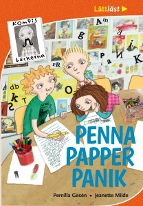 Penna, papper, panik by Pernilla Gesén