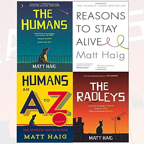 Matt Haig Collection 4 Books Bundle With Gift Journal