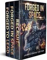 Book cover for Forged in Space Boxed Set: Books 1-3 (Jack Forge, Fleet Marine Omnibus)