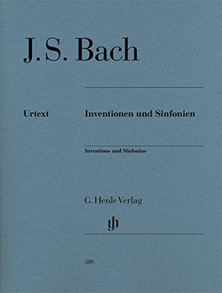 Bach: Inventions and Sinfonias, BWV 772-801