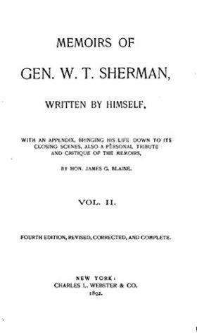 Memoirs of Gen. W. T. Sherman - Vol. II