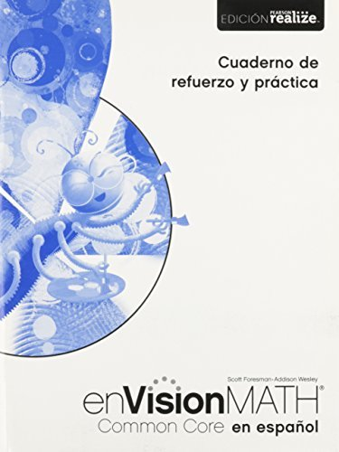 Math 2015 Spanish Common Core Practice & Reteaching Workbook Grade 1