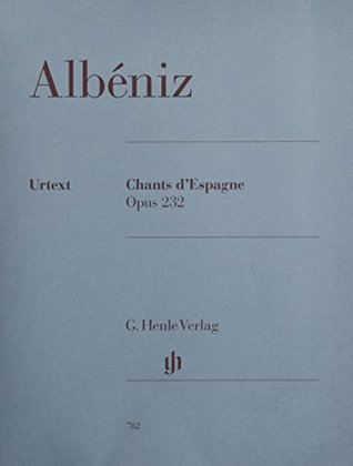 Chants dEspagne op. 232 - piano - (HN 782)