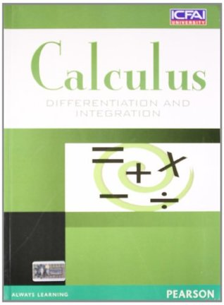 Calculus: Differentiation and Integration, 1e