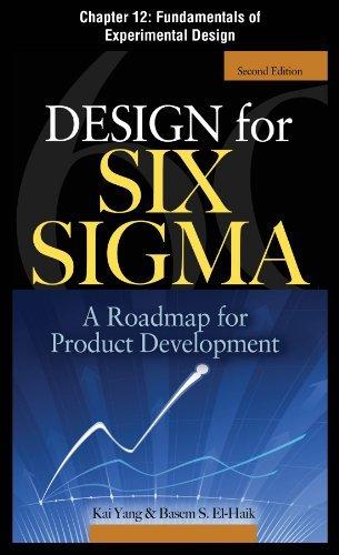 Design for Six Sigma, Chapter 12 - Fundamentals of Experimental Design