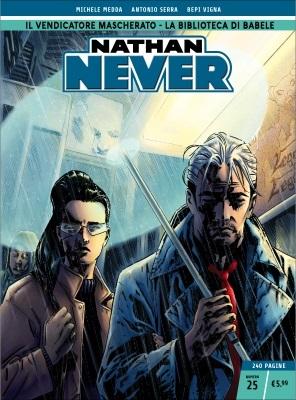 Nathan Never n. 25: Il vendicatore mascherato - La biblioteca di Babele