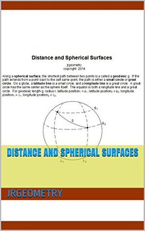Distance and Spherical Surfaces ($1 Geometry Study Guide Downloads Book 10)