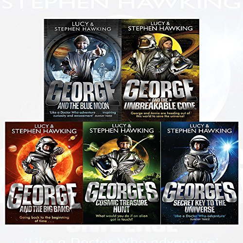 george's secret key to the universe series stephen hawking 5 books collection set
