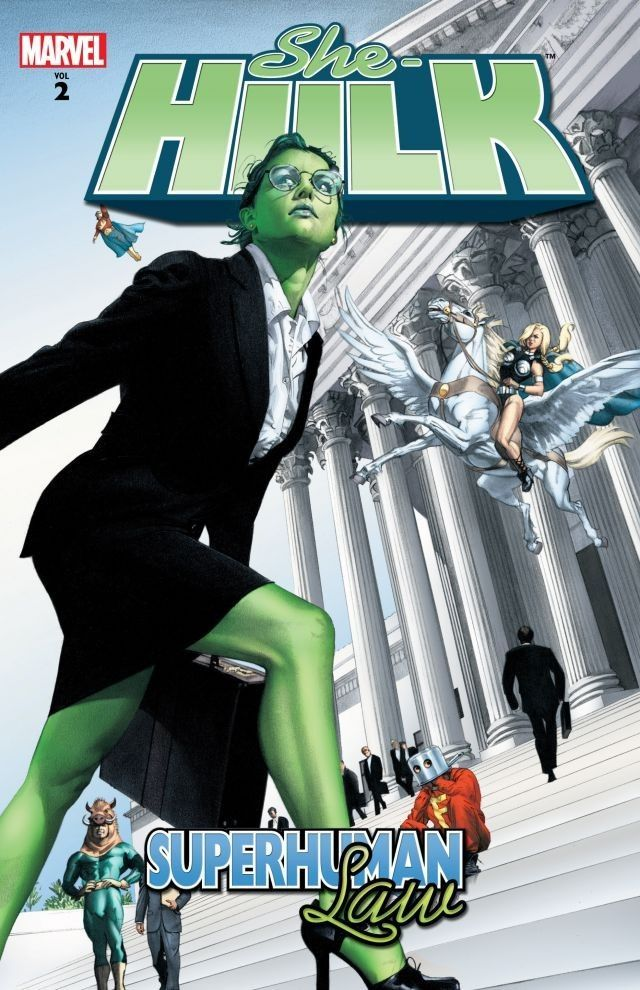 She-Hulk, Volume 2: Superhuman Law
