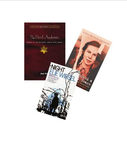 8th Grade Books : Night - The Devil's Arithmetic - I Have Lived A Thousand Years: Growing Up In The Holocaust (Book Sets for Teens : Grade 8 - 12)