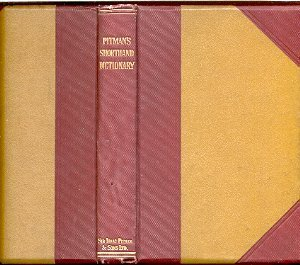 Shorthand Dictionary, Pitman's