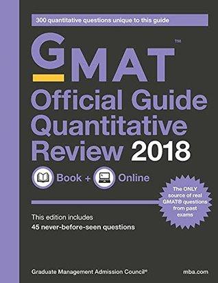 GMAT Official Guide 2018 Quantitative Review: Book/Online