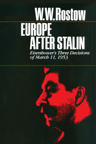 Europe After Stalin: Eisenhower's Three Decisions of March 11, 1953