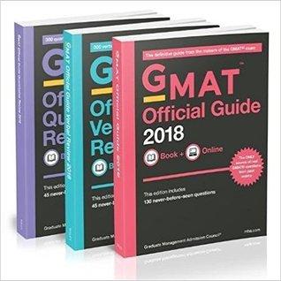 GMAT Official Guide 2018 Bundle