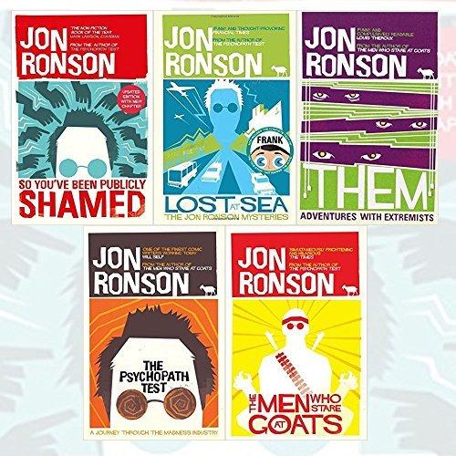 Jon Ronson's Collection 5 Books Bundle