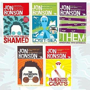 Jon Ronson Collection 6 Books Bundle set