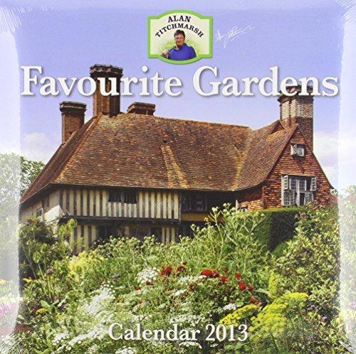 Alan Titchmarsh Favourite Gardens Wall 2013