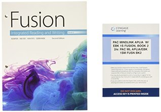 Bundle: Fusion: Integrated Reading and Writing, Book 2, Loose-leaf Version, 2nd + LMS Integrated for Aplia, 1 term Printed Access Card