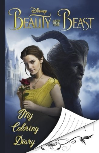 My Coloring Diary Beauty and the Beast, Notebook, Coloring Pages, For All Ages
