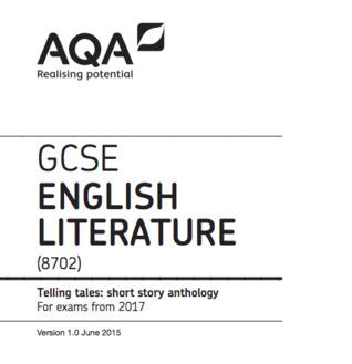 Telling Tales: AQA Short Story Anthology