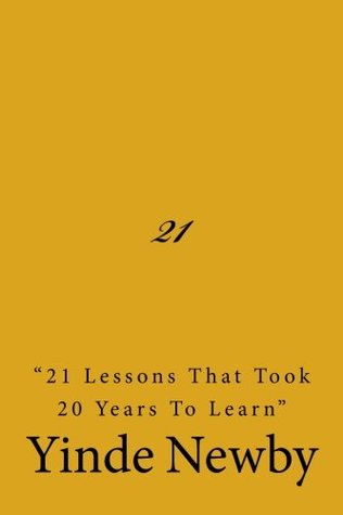 "21 ""21 lessons that took 20 years to learn"""