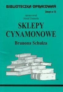 Biblioteczka opracowań Sklepy cynamonowe Brunona Schulza (Biblioteczka opracowań, #13)
