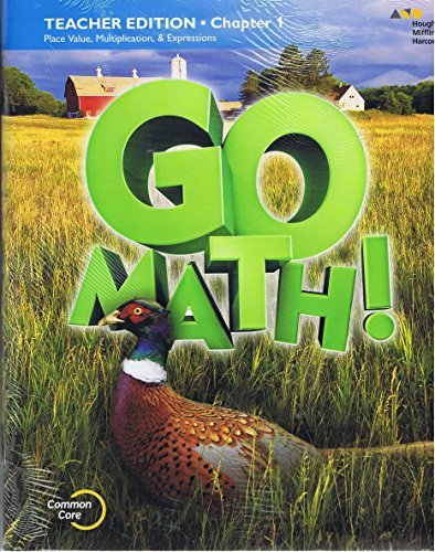 GO Math!: Teacher Edition and Planning Guide Bundle Grade 5 2015