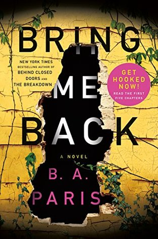 Bring Me Back: 5 Chapter Sampler