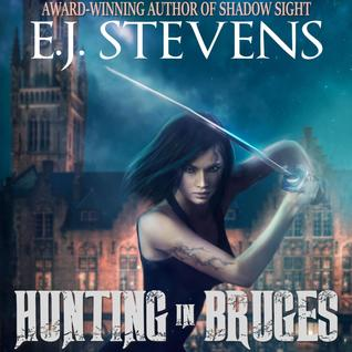 Audiobook Review: Hunting in Bruges by E.J. Stevens (@mlsimmons, @EJStevensAuthor)